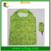 fashion polyester pro folding shopping bag in bag