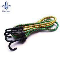 2018 alibaba china hot sale eco-friendly polyester custom bungee cord elastic rope with hook