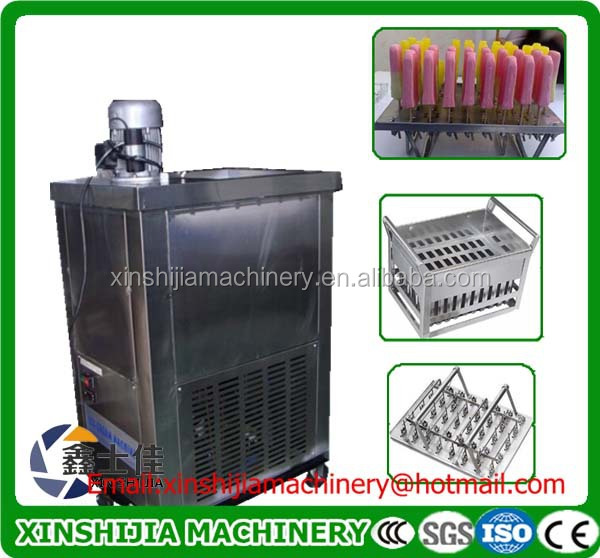 Professional low cost stainless steel ice-cream popsicle machine