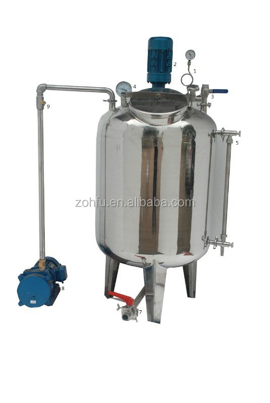 honey Vacuum Filtering and defoaming tank for sale