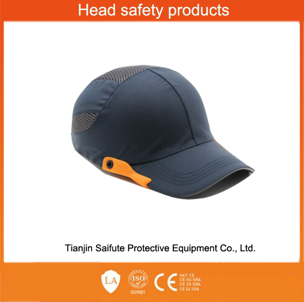 promotional safety bump protection cap fashion baseball safety cap