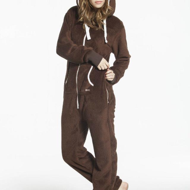 Wholesale Fashion Unisex Jumpsuit Adult Fleece Teddy Bear Romper
