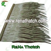 artificial twitch-grass, imitation thatch roof tiles, artificial palma