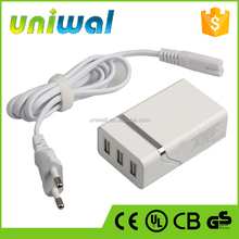 Smart Multi-output Charger 3 Ports USB Charger 5V 2A Output for Android Mobile Phones & Iphones