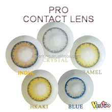 popular model of multi color soft contact lens PRO series 5 colors