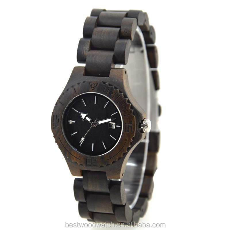 OEM Custom Logo Special Person Watches Comfortable Women Wood watchtes WIth Your Logo