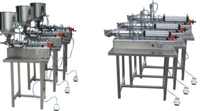 Pneumatic driven Semi-Automatic table top essential oil vegetable oil bottle Filling Machine