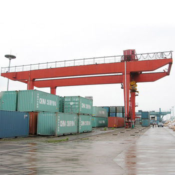 NUCLEON 500T Railway Container Crane used in Dock yard