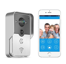 Wireless WiFi Doorbell Türklingel mit Kamera Phone P2P PIR Detektion Home Security für Android IOS Handy Tablette PC