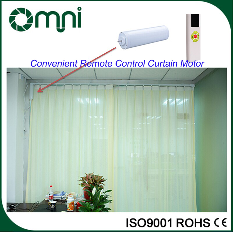 China Supply Motorized Drape Controller Automation Curtain Motor Ceiling Mount Curtain Track
