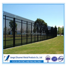 Low Carben Steel Garden Security Fence, Plastic Garden Security Fence,Decorative Garden Security Fence