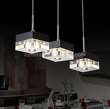 luxury traditional art deco crystal drops pendant lamp