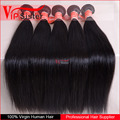 100% Virgin Hair Straight High Quality Raw hair cut from one donor