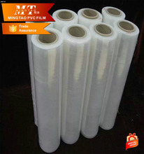 Factory sells protective film , ultra clear soft PVC self adhesive film