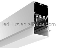 2 inches recessed aluminum LED profile with internal driver