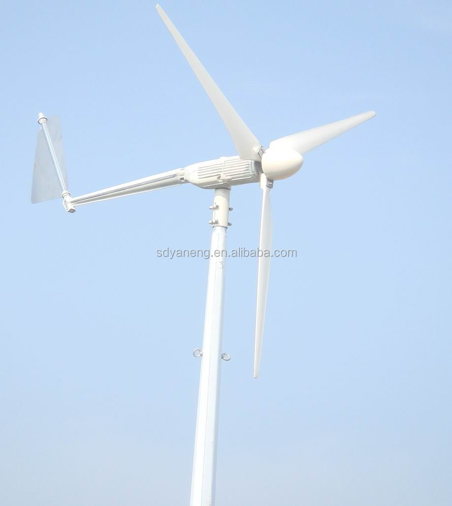 how to set up a wind turbine generator