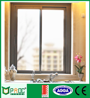 Aluminium cheap sliding window|Aluminum office sliding window PNOC0047SLW
