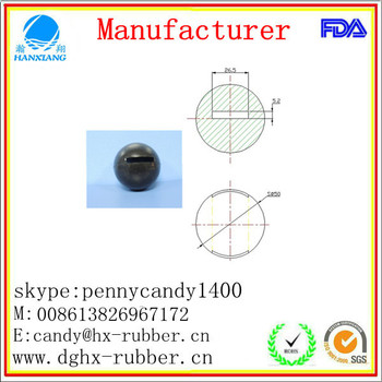 Dongguan manufacturer high bouncy silicone ball container