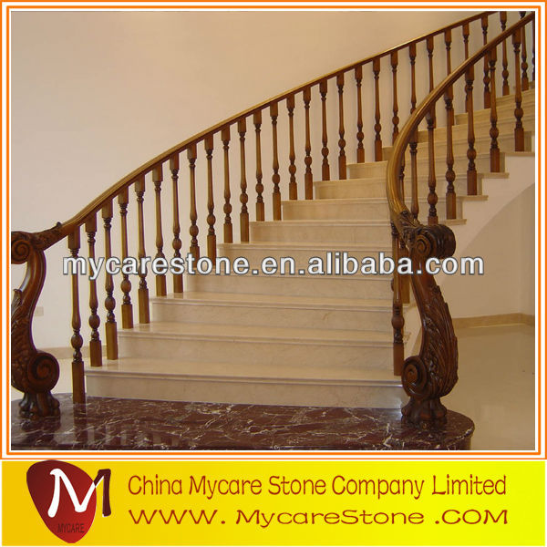 Marble stair tread for hotel