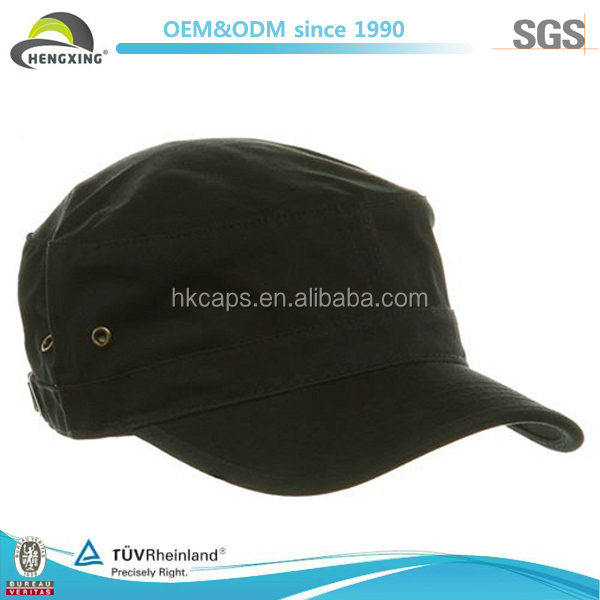Plain Cotton Custom Made Promotional Military Cap