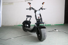 2017 New High quality big wheel electric scooter harley citycoco scooter, Citycoco with bluetooth 1000W