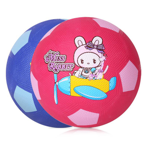 Custom your own design cheap price rubber soccer ball