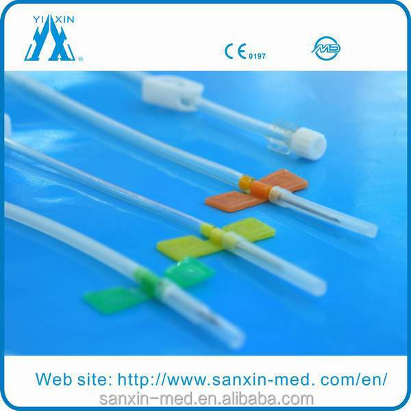 Disposable sterile 16g safety AV fistula needle