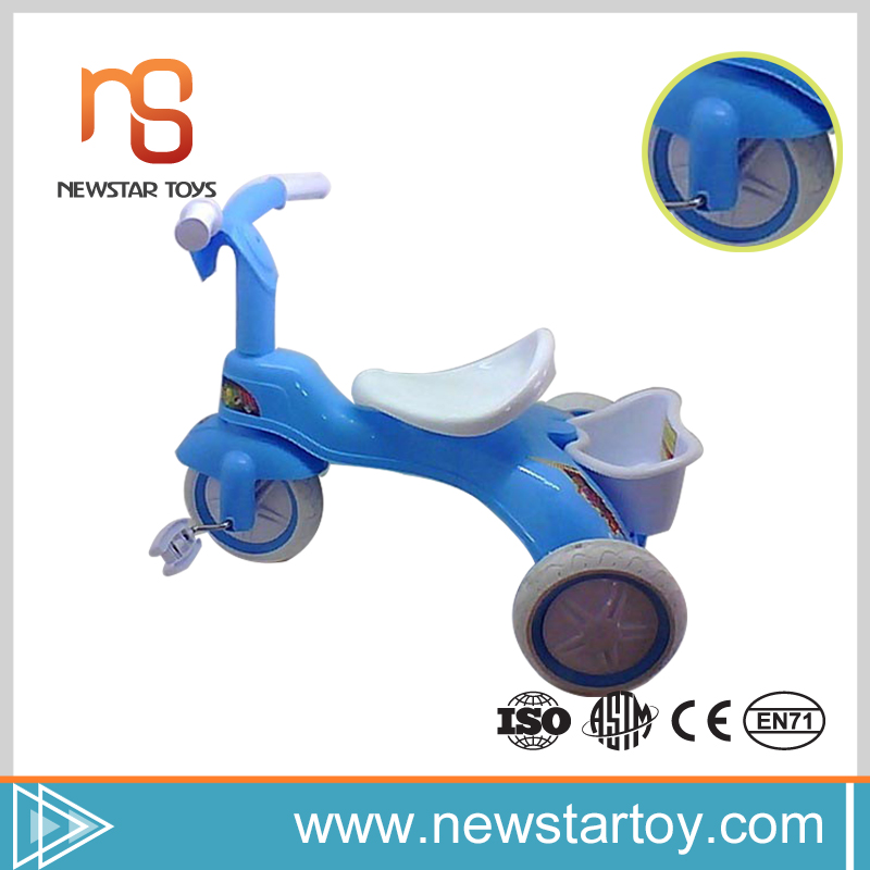 High quality wholesale plastic three wheel bike tricycle with baby
