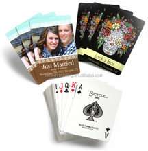Customized Logo Printed Waterproof Plastic Playing Cards <strong>Game</strong> Cards