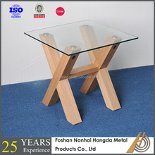 modern design glass phone table