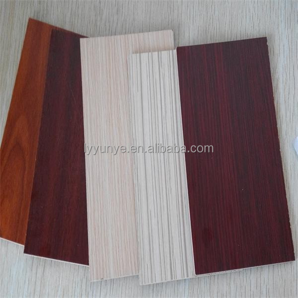 Hot sale new design Melamine MDF,slatwall panel for decoration