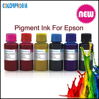 High quality refill eco solvent pigment ink for epson stylus r1800