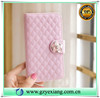 Wholesale alibaba camelia pendant design wallet flip case for Samsung galaxy s4 mini leather stand cover with card slot