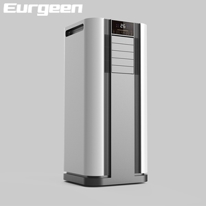 9000 BTU portable air conditioner with dehumidifier fan for home and office