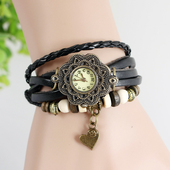 Hot selling ladies vintage Watch with many designs.2014 new arrival fashion women watches.