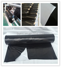 Light deprivation plastic poly film 6mil white and black color