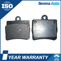 Auto disc brake pad no damage to brake discs and hubs for Toyota Avanza Latin America 2007 front brake pad 04465-BZ010