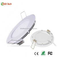 LED panel light LED PANEL LIGHT 6W round 120mm cutout 105mm slim lamp high quality