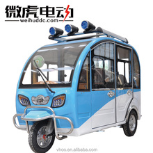 Closed Electric motor passenger tricycle scooter for sale