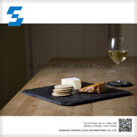 Hot selling high quality slate kitchen table placemat