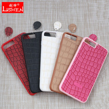 Custom crocodile pattern leather for iphone 5 6 case,case for iphone5 with wholesale price
