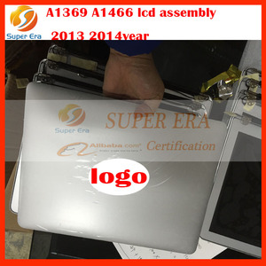 A1369 led assembly for macbook air 13'' A1466 lcd assembly full assembly 2013 2014year 12pin