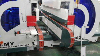 Multi-function double end tenoner machine