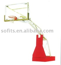 Basketball Frame Electrically Operated Hydraulic Pressure Hydra Rib Basketball System Wall Shelves