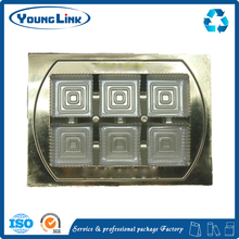 new design chocolate blister tray /Gold blister tray for chocolate packaging