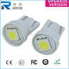 Ultra White T10 1 SMD 5050 LED Light bulbs Wedge 194 168 2825 158 W5W Bulb