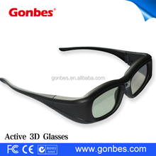 Good quality cheap rechargeable optoma dlp link 3d glasses 144HZ