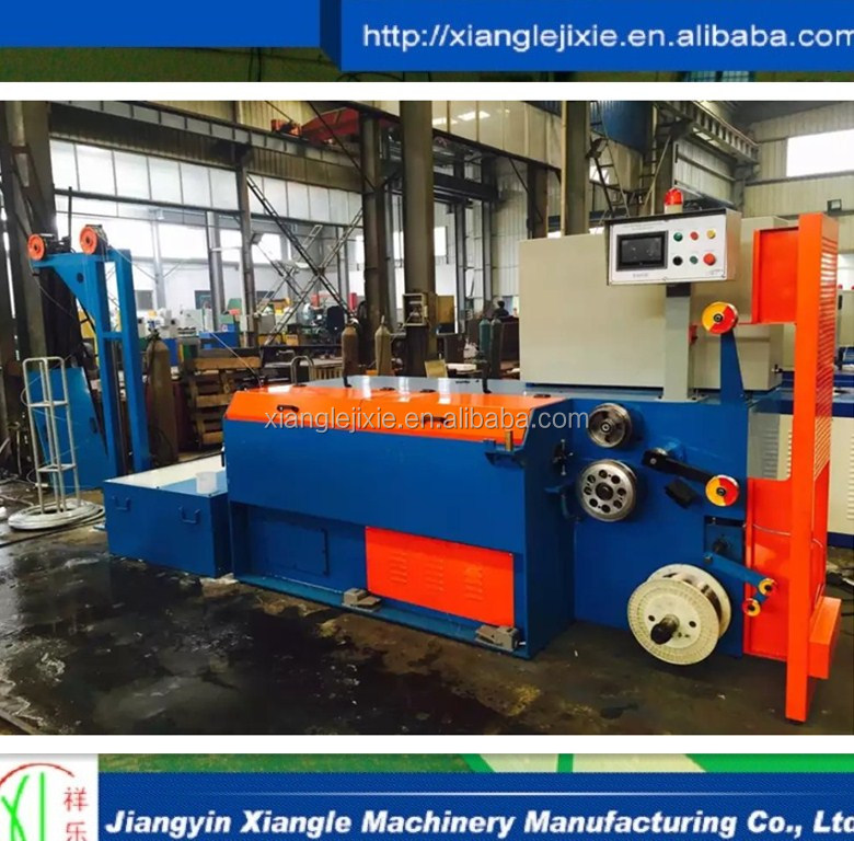 Galvanized steel carbon wet wire drawing machine- manufacturer