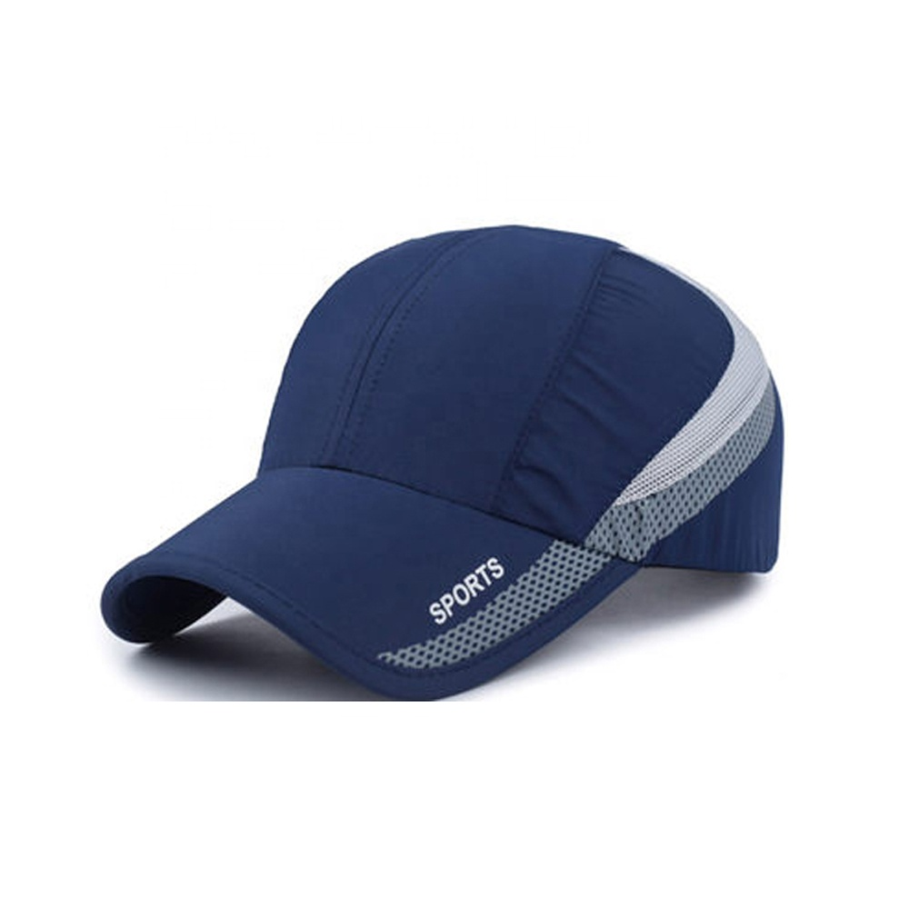 100% polyester microfiber sports <strong>cap</strong>/male baseball <strong>caps</strong>/dryfit running promotional sports baseball <strong>cap</strong>