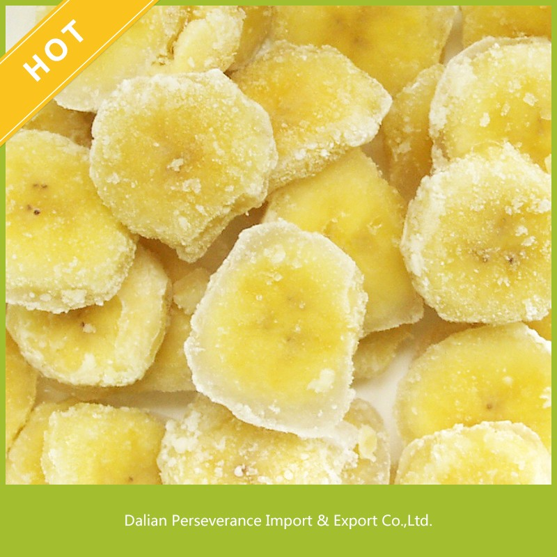 2017 Hot Sale Healthy and Delicious Fruit Snack Freeze Dried Banana